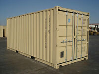 New used 1 way storage containers