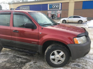 2001 Ford Escape XLS SUV, Crossover $2000 OBO