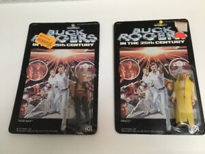 Toy Buck Rogers Action Figures-Collectables (Sealed)