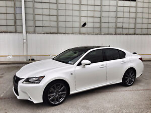 2013 Lexus GS350 F-Sport AWD ONLY 47500KMS