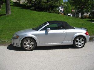 2005 Audi TT Quatro Convertible