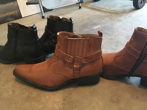 New cowboy boots ! $15 each pair or 25 for two pair