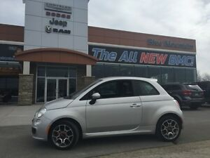2014 Fiat 500 Sport  ACCIDENT FREE, BLUETOOTH/MP3, FUEL SAVER!