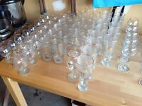 Olympic collectors glasses- Calgary 1988