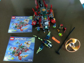 Lego Ninjago Ronin R.E.X set 70735