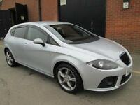 SEAT LEON 2.0TDI DPF FR SILVER DIESEL 6 SPEED MANUAL