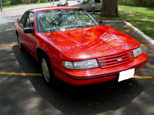 Chev Lumina Euro Coupe 2 dr good heat/ac certified RARE Coupe