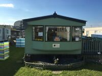 Modern static caravan big price drop