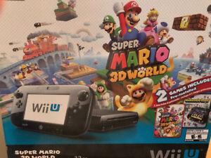 Super Mario 3D World Deluxe Set Wii U bundle  on Sale $250