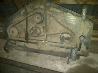 "Rare---Bolens 42"" mower deck Model 18300 Serial # 0402702"