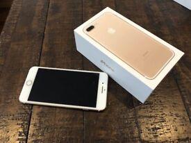 iPhone 7 Plus Gold 128GB Unlocked