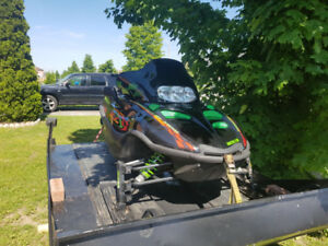 2001 Arctic Cat 550 and trailer