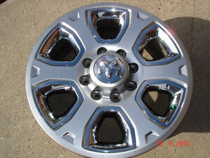 "2015 Dodge Ram 2500/3500 Alum. OEM 20""x 8 bolt rims / no tires"