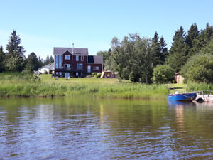 Very Nice Water Front House for Sale,   Nature paradise!!!!