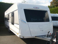 BRAND NEW 2017 LMC 695 EXQUISIT VIP,£2500 TO RESERVE YOUR CARAVAN