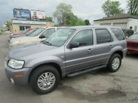2007 MERCURY MARINER 4X4 - ONLY 85,000 KM.S - SALE $ 6499