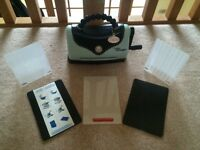 Sizzix Texture Boutique Card Embossing machine for Card making