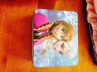 Frozen lunch box with puzzle