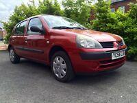 2004 Renault Clio 1.2 5 door Long months MOT excellent condition