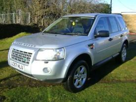 Land Rover Freelander 2 2.2Td4 GS EIGHT STAMPS BELT @ 145k