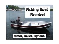 Want To Buy a 12'-14' Aluminum Boat-($200-$500)