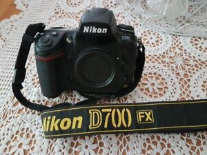 Nikon D700, batter, charger and 8G Compact Flash Card