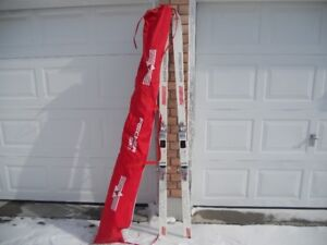 FISHER SKIS (200 CM) WITH CARRYING BAG