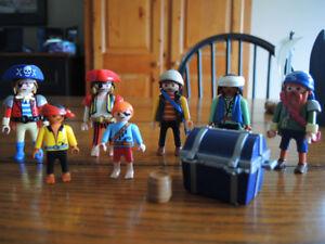 Ensemble de Playmobil pirates