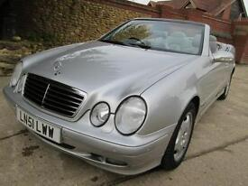 MERCERDES BENZ CLK 320 Cabrio 2 Previous Keepers 81K From New FSH