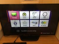 "LG42"" slim line LED TV -brand new condition"