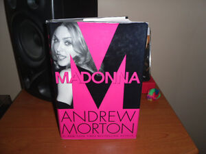 Madonna Hardcover Book