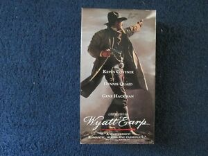 Wyatt Earp VHS Double Tape Video 1994 Kitchener / Waterloo Kitchener Area image 1