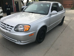 2004 HYUNDAI ACCENT AUTOMATIC SAFTIED COLD AC189 KMS NO RUST
