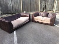 2x sofa, Free delivery