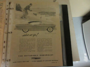 1955 CHEVROLET BEL AIRE SPORT COUPE AD