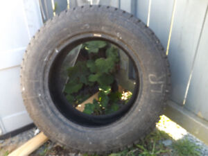 One Winter Tire 215/65/16 $ 30.00
