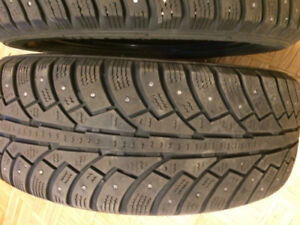 two 185 55r 15 tires