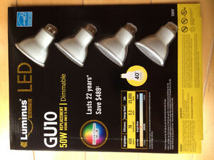LED Dimmable GU10 4 pack