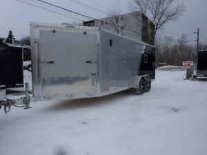 JUST ARRIVED NEW 2018 ALUMINUM 7' X 23' Drive in/out