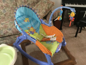 Fisher Price Newborn to Toddler Rocker - Animal Fun