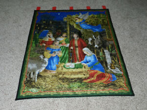 For Sale Nativity Wall Hanging -- I am also taking orders for th