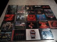 cd rock and metal