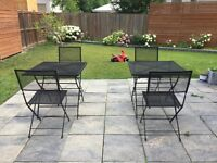 Modern Country Patio set & farm style outdoor dining table