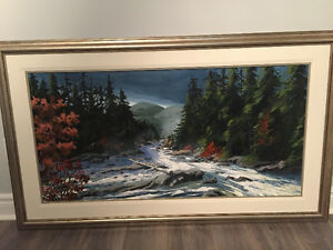 Ben Babelowsky 24 x 48 Original Oil Painting