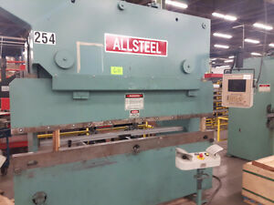 PRESS BRAKE ALLSTEEL 8 FOOT 65 TON