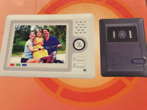WIRERD MONITOR VIDEO DOOR PHONE NEW