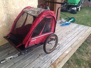 Child bike trailer