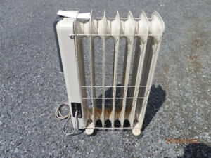 Mastercraft Electric Oil Filled Heater