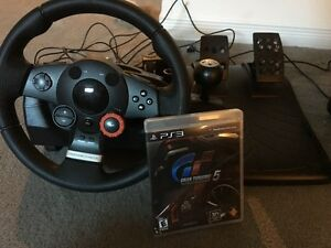 Logitech Driving Force GT and PS3 GT3
