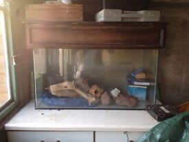 Fish tank for sale with unit